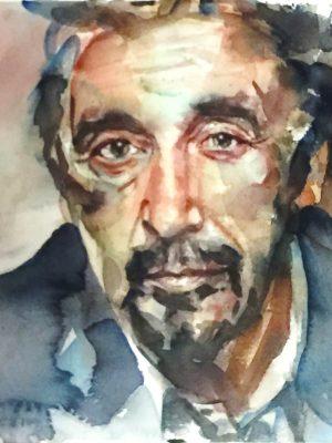 Retrato de Al Pacino